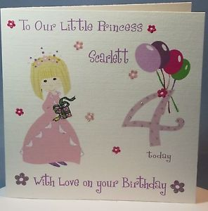 Free 4th Birthday Cards For Granddaughter