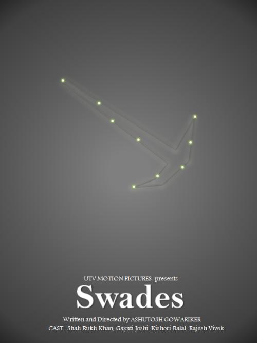 Swades 2004 By Ajay Kushwaha Movie Posters Minimalist Minimal Movie Posters Bollywood Posters