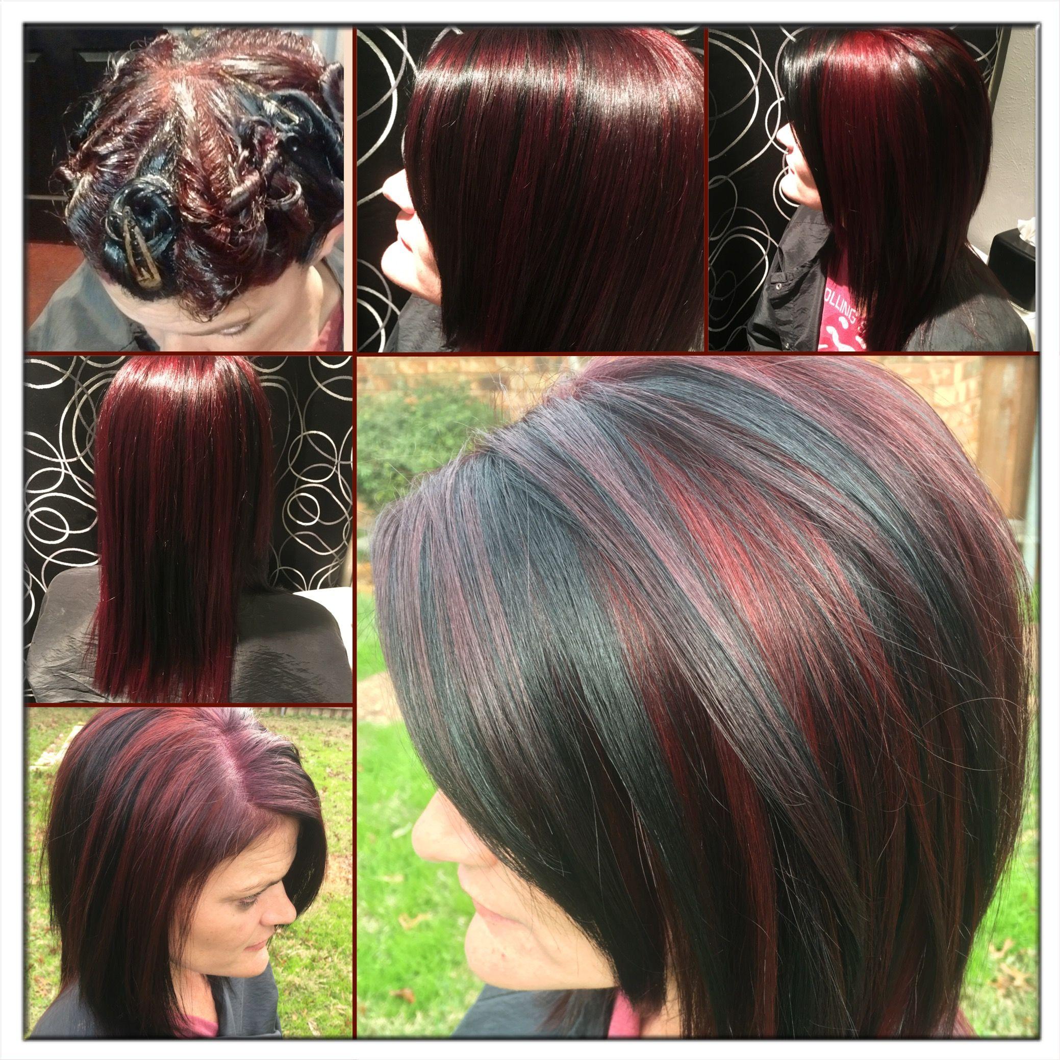 pinwheel hair color 3 colors 's