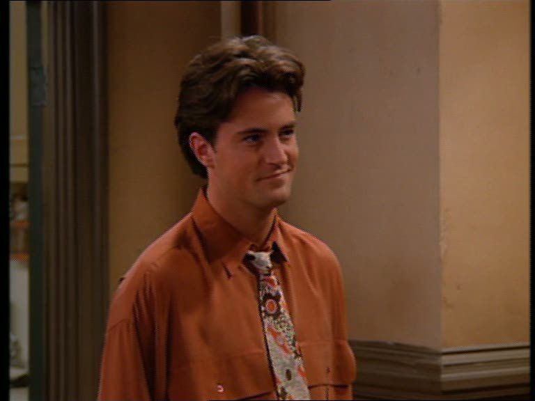 Chandler Bing. He Used To Be Such A Cutie Pie.