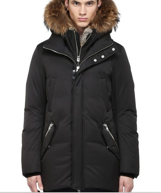 d245d4827 Mackage EDWARD-F4 Parka Down Coat long Down Jackets Men Male Black ...
