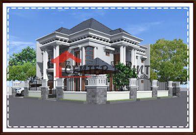 jasa arsitek desain gambar rumah di banjarbaru - fasade
