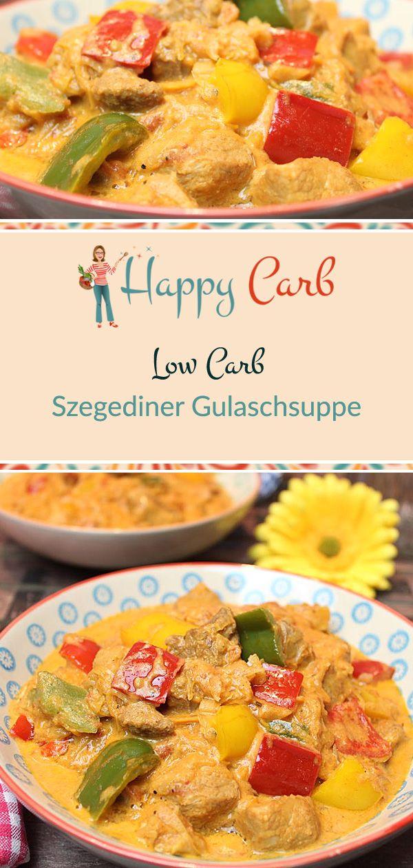 Szegediner Gulaschsuppe - Happy Carb Rezepte