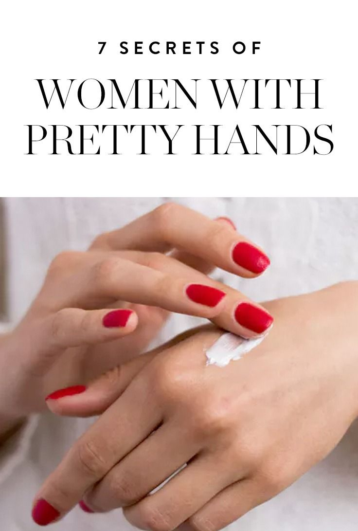 12 Secrets of Women with Pretty Hands  Pretty hands, Beauty care