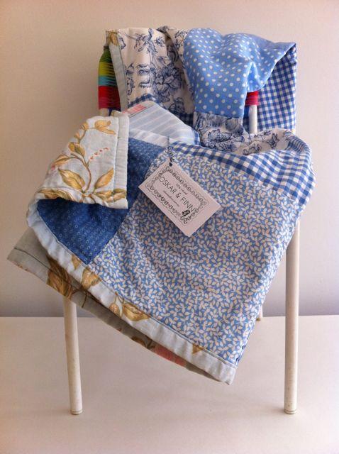 OSKAR & FINN Sidmouth, cot size quilt, 107cm x 85cm, $120.00
