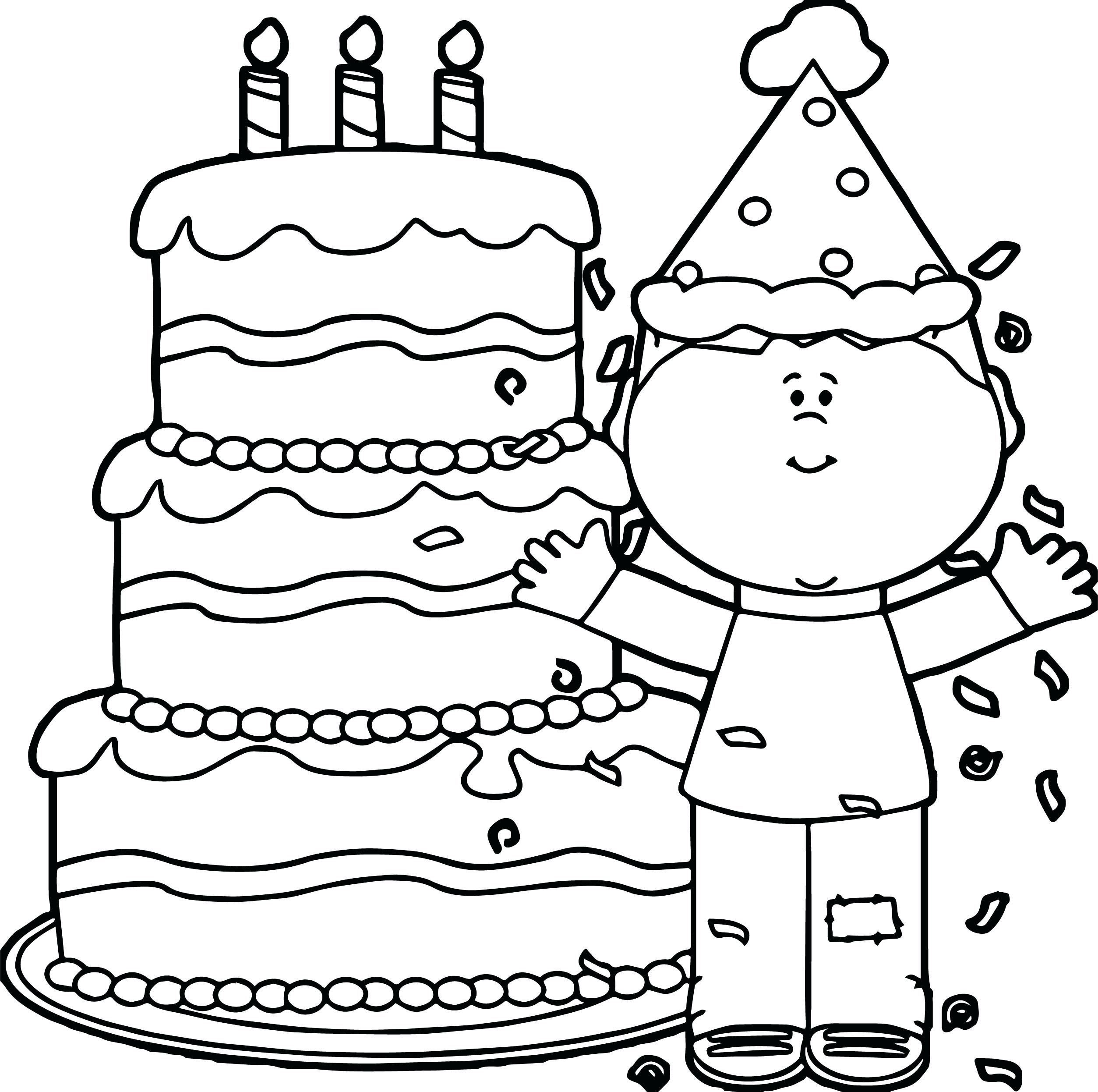 Take A Look At These Happy Birthday Coloring Pages | Happy ...