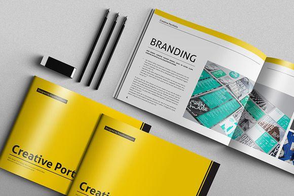 Portfolio Brochure Vol5 Brochures, Portfolio layout and Brochure