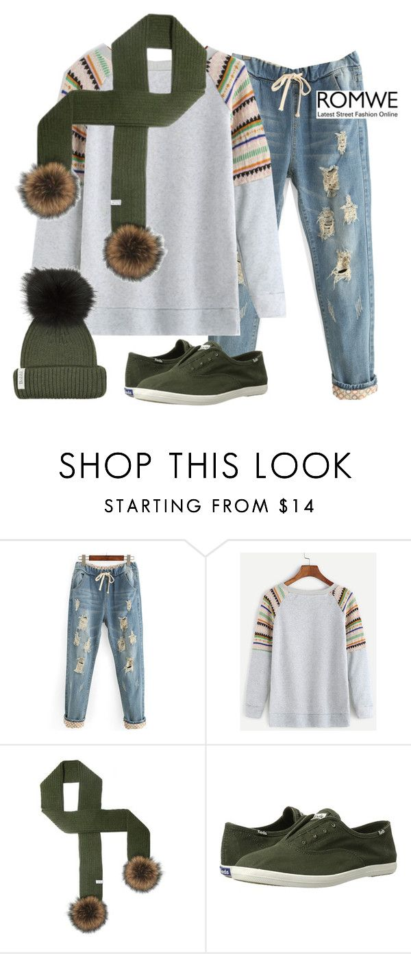 """Sweater Fun"" by mrs-rc ❤ liked on Polyvore featuring Keds and Bobbl"