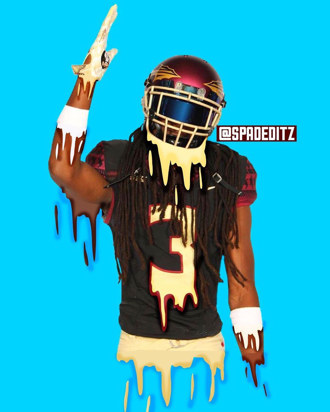 D R I P P I N Limited Edition Edits Sports Sportsedits Cooledits Nfl Football Nfl Football Wallpaper Traveling By Yourself Football Wallpaper