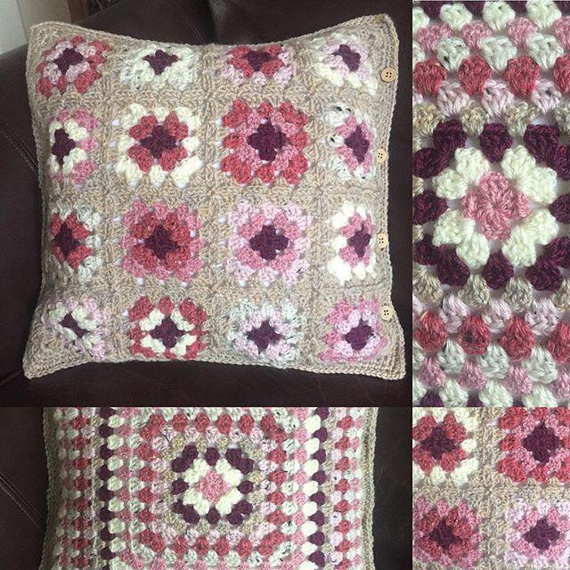estampados cojines almohada crochet cojines de ganchillo almohadas cuadrados de la abuelita mantas artesanas