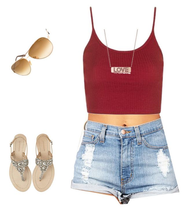 """""""Untitled #434"""" by keonnabrownoffical on Polyvore featuring Topshop, Antik Batik, Tom Ford and Michael Kors"""