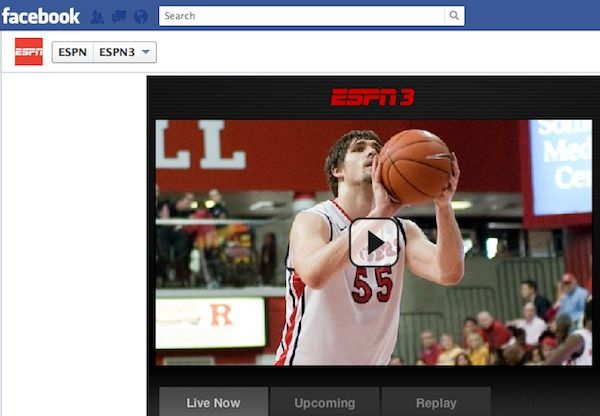 ESPN Brings More Than 200 College Basketball Games to Facebook