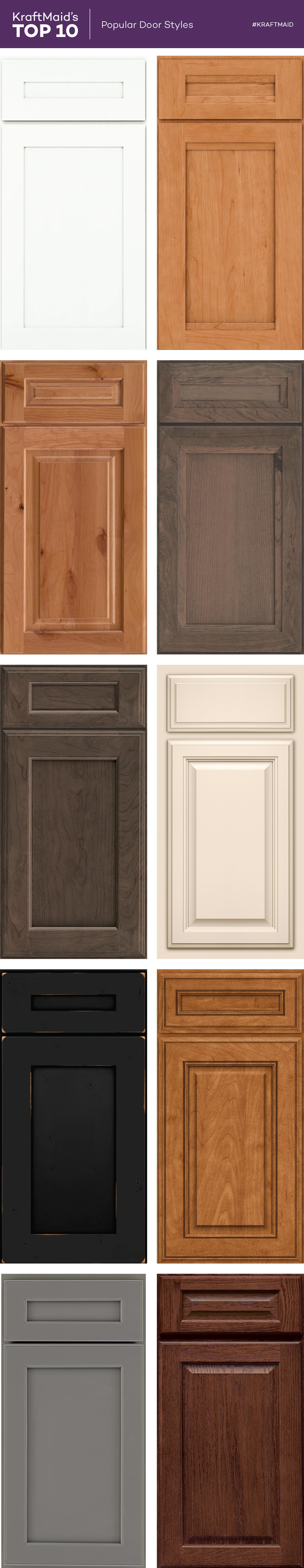 Bon KraftMaid® Shaker And Transitional Style Kitchen Cabinet Doors Are Two Of  Our More Popular Door