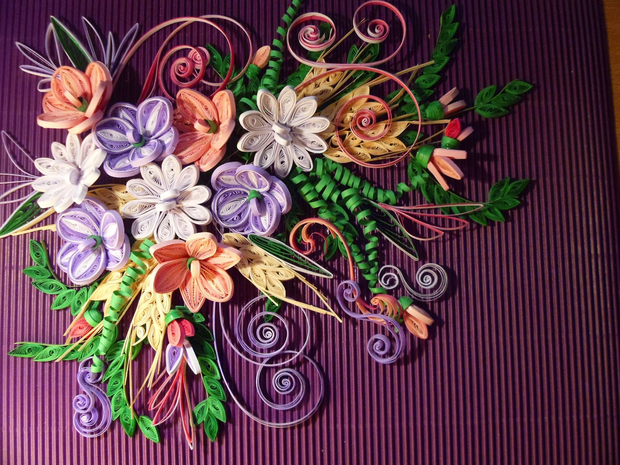 This Is My Hand Work Quilling Art By Bmiletic Pinterest