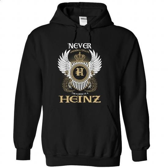 (Never001) HEINZ - hoodie women #summer shirt #tshirt typography
