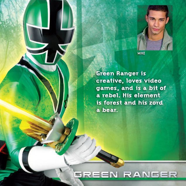 Mike The Green Power Ranger Google Search Power Rangers
