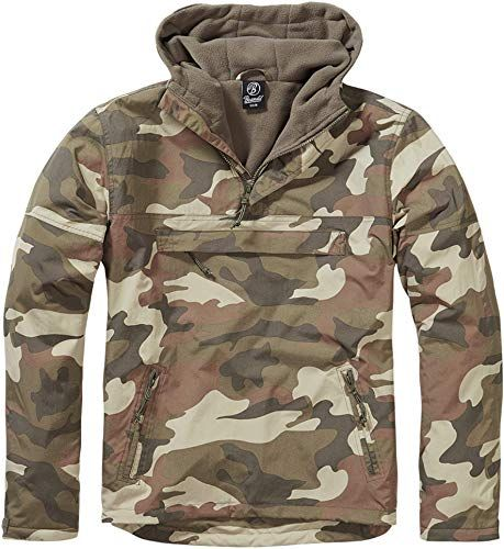 Photo of New Brandit Men's Windbreaker Light Woodland online shopping – Topfavoritestyle