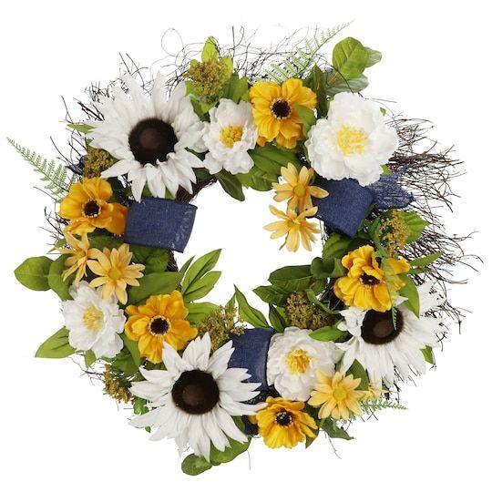 "Photo of 24 ""sunflower wreath from Ashland®"
