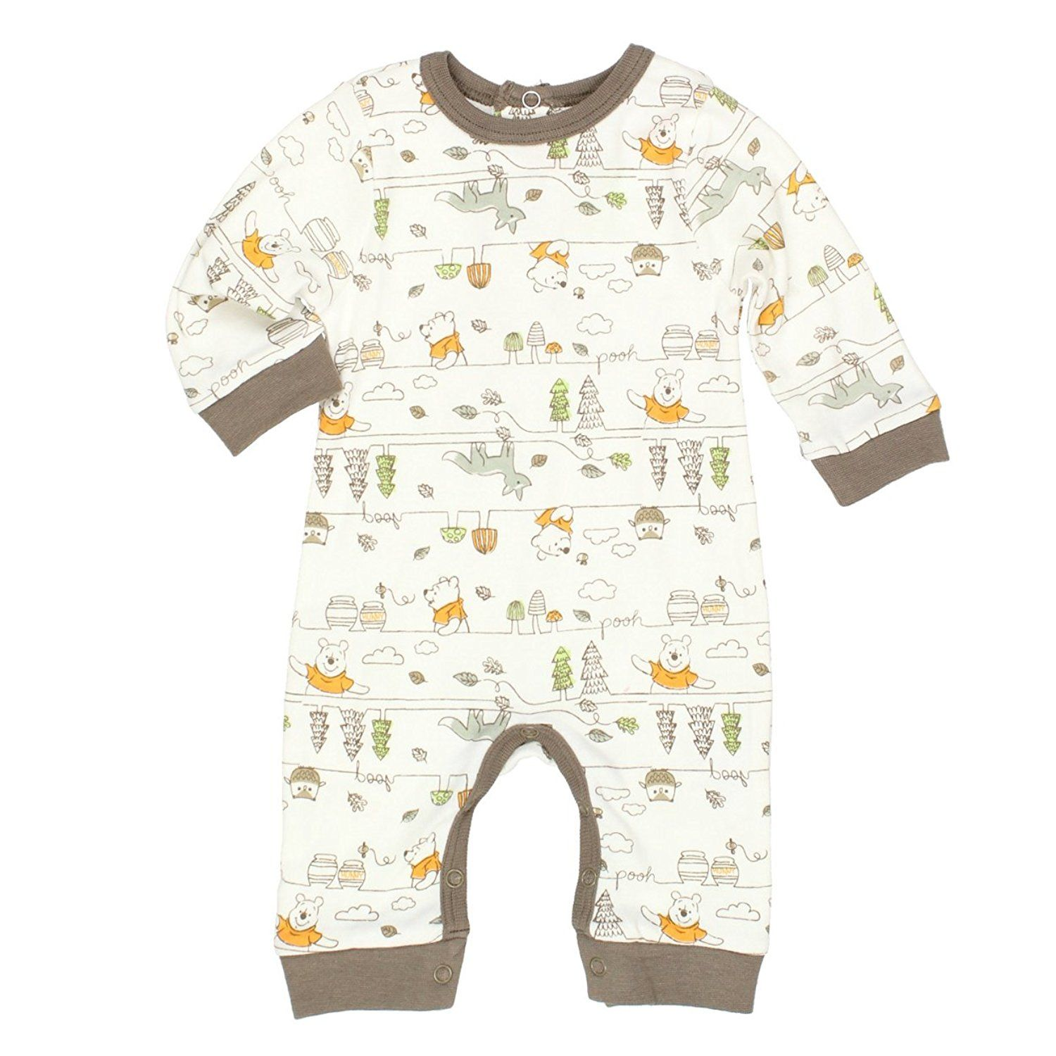 Amazon Winnie the Pooh Baby Boys Coverall Romper Clothing