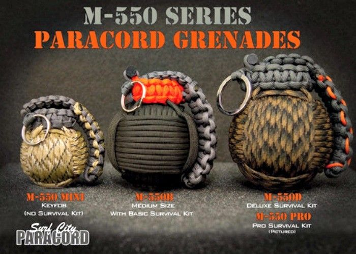 The M 550 Paracord Grenade Holds An Explosion Of Survival Gear