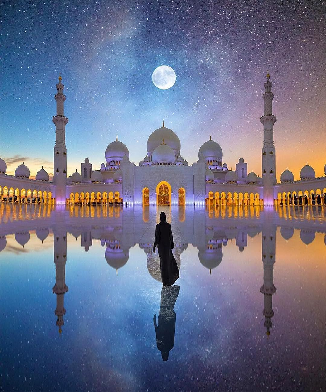 Sheikh Zayed Mosque Abu Dhabi United Arab Emirates Uae Travel Tourist Attraction Sightseeing Spots Su Grand Mosque Mosque Architecture Beautiful Mosques
