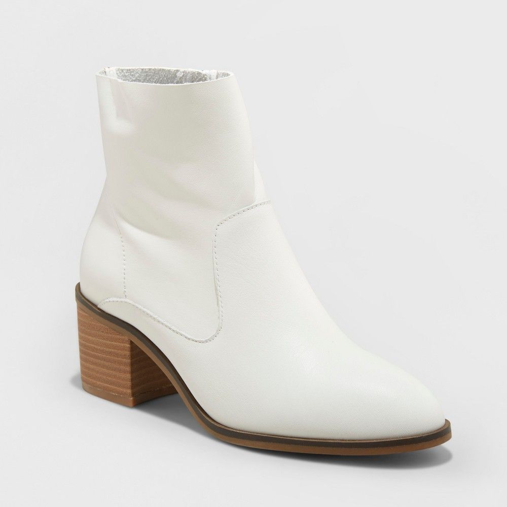 14fe750c5 Boost your style with the simple addition of the Reagan Heeled Leather Ankle  Boots from Universal
