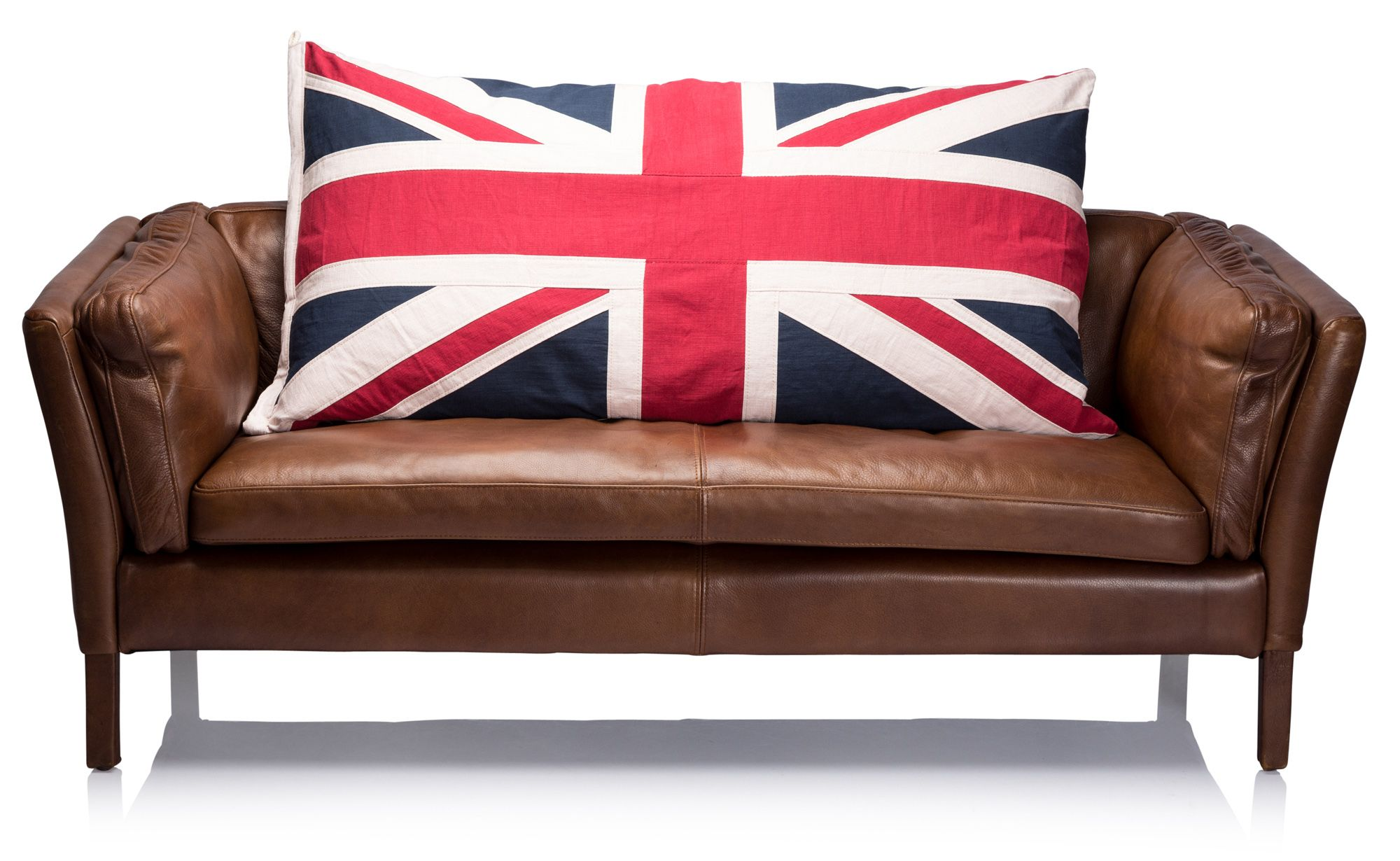 COM - Jack Large Scatter Cushion, Union Jack Charcoal. Submitted by Sophia.  'Received my lovely cushion a few days ago.' | Unionjack | Pinterest | G