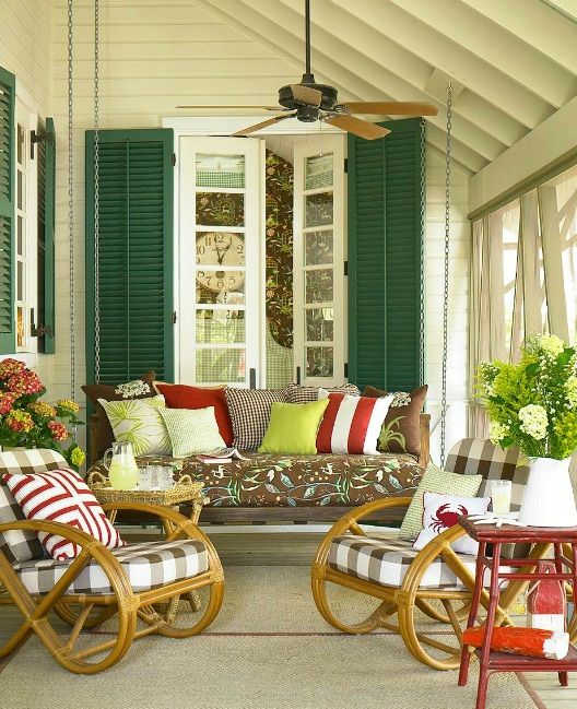 22 Eclectic Porch Ideas: 100+ Living Room Decorating Ideas You'll Love