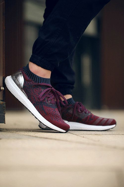 sale retailer 06546 7a517 adidas Ultra Boost Uncaged Navy Burgundy White Silver UK Trainers  2017Running Shoes 2017