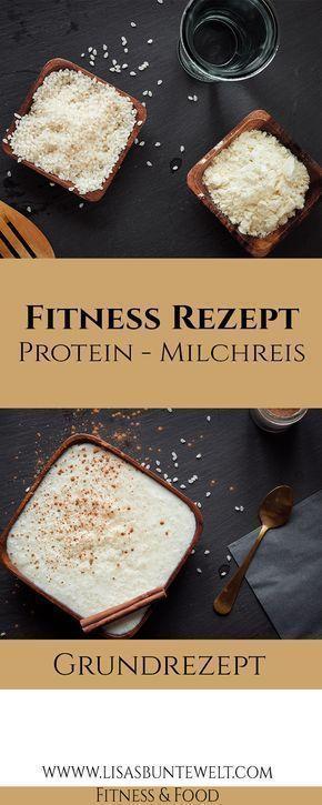 Fitness Rezept - Der beste gesunde Protein-Milchreis,  #Beste #der #Fitness #Gesunde #ProteinMilchre...