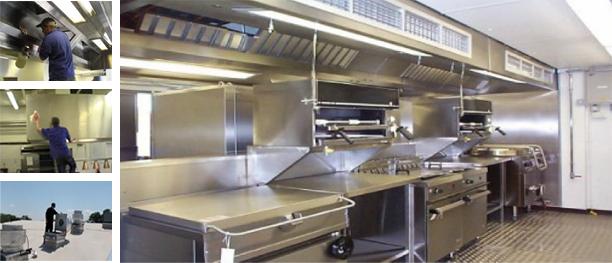Restaurant Kitchen Walls big ben services can clean the entire restaurant kitchen: ceilings