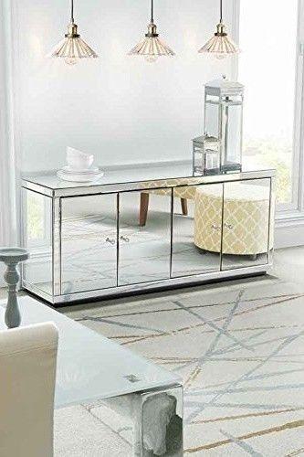 Pin By Tina Hagin On Gifts Mirrored Sideboard Mirrored Furniture My Furniture