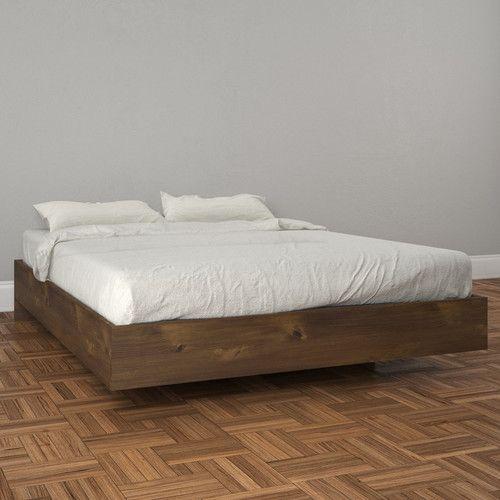 Kaylee Full/Double Platform Bed | Camas, Gemelo y Plataforma