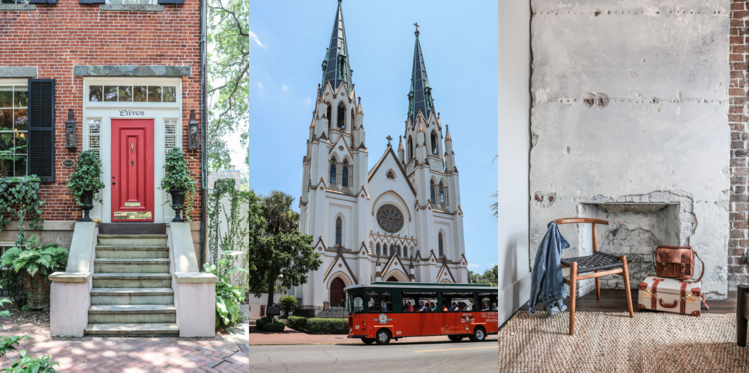 A Southern Escape to Historic Savannah and Tybee Island, Georgia. Come on a virtual tour ! Savannah Travel Photography by Zio & Sons.