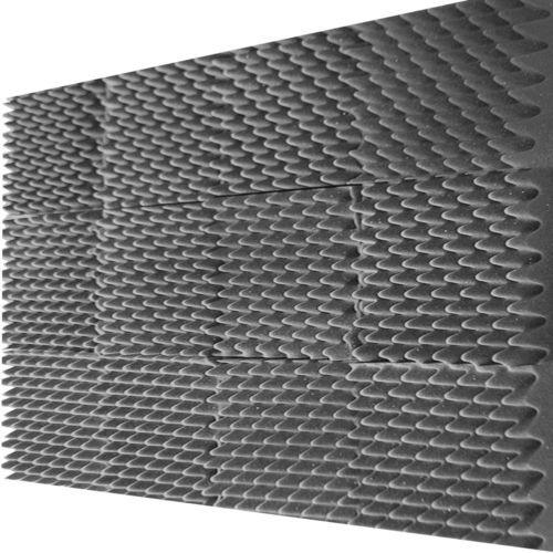 12 Pack Egg Crate Soundproofing Acoustic Foam Tiles Wall Panels 12 X 12 X 1 5 735548107422 Ebay Studio Foam Acoustic Panels Sound Proofing
