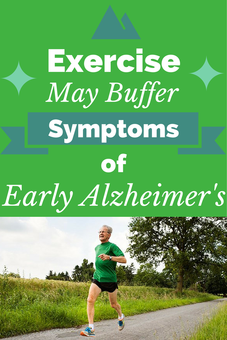 Exercise May Buffer Symptoms of Early Alzheimers
