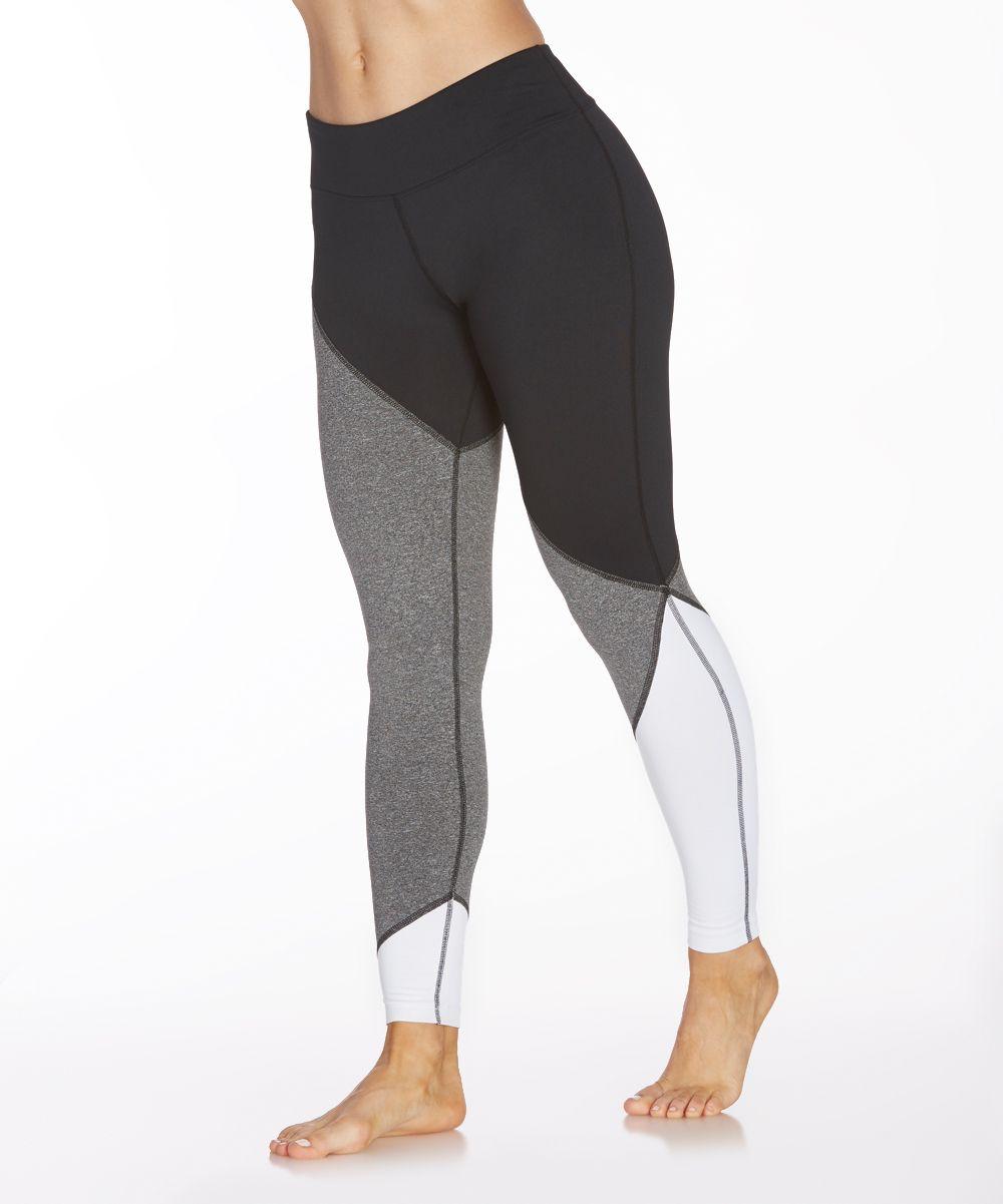 6ad0c66a87 Marika Heather Black Fleece-Lined Infinity Leggings   Activewear ...