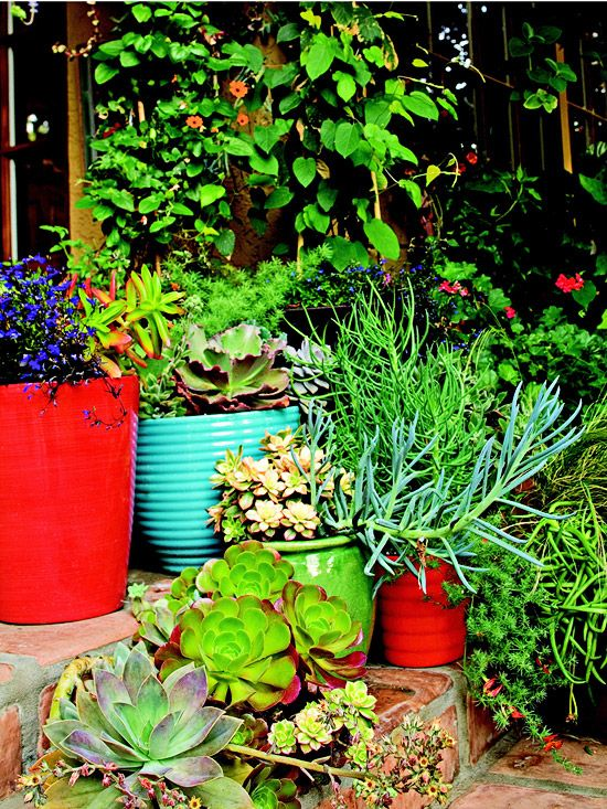 Colorful Backyard Decorating Ideas | Outdoor spaces ...