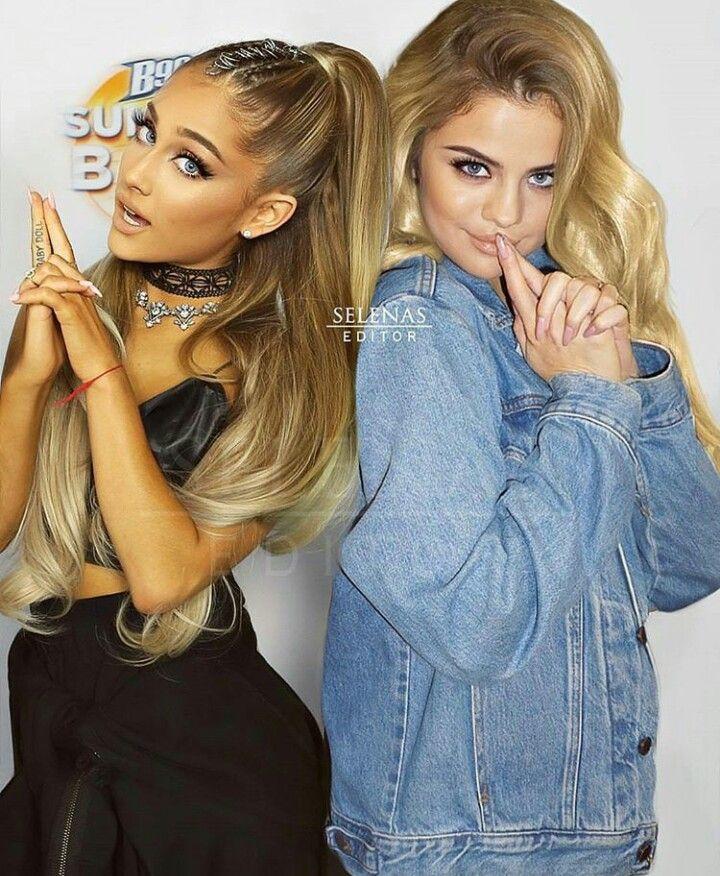 Selena Gomez and Ariana Grande edit   Selena Gomez and Ariana Grande ...