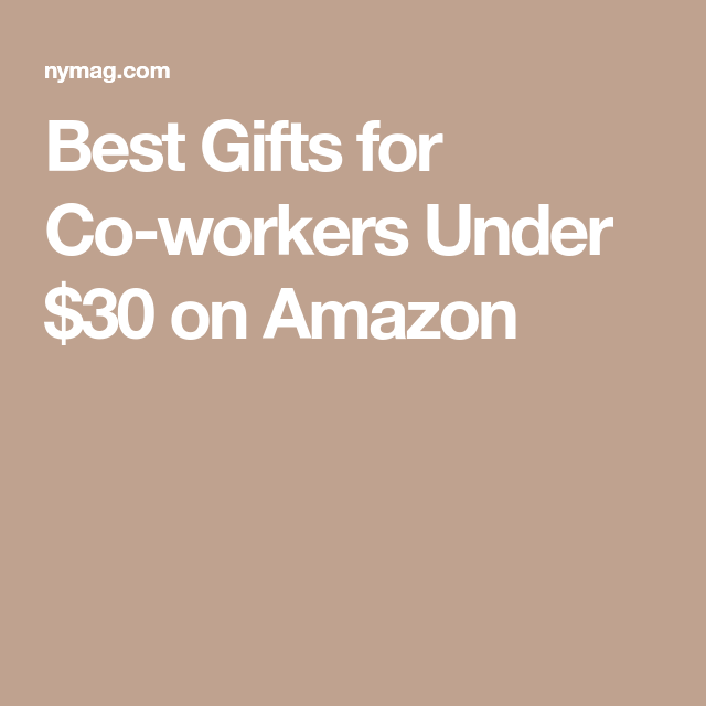 Best Gifts for Co-workers Under $30 on Amazon