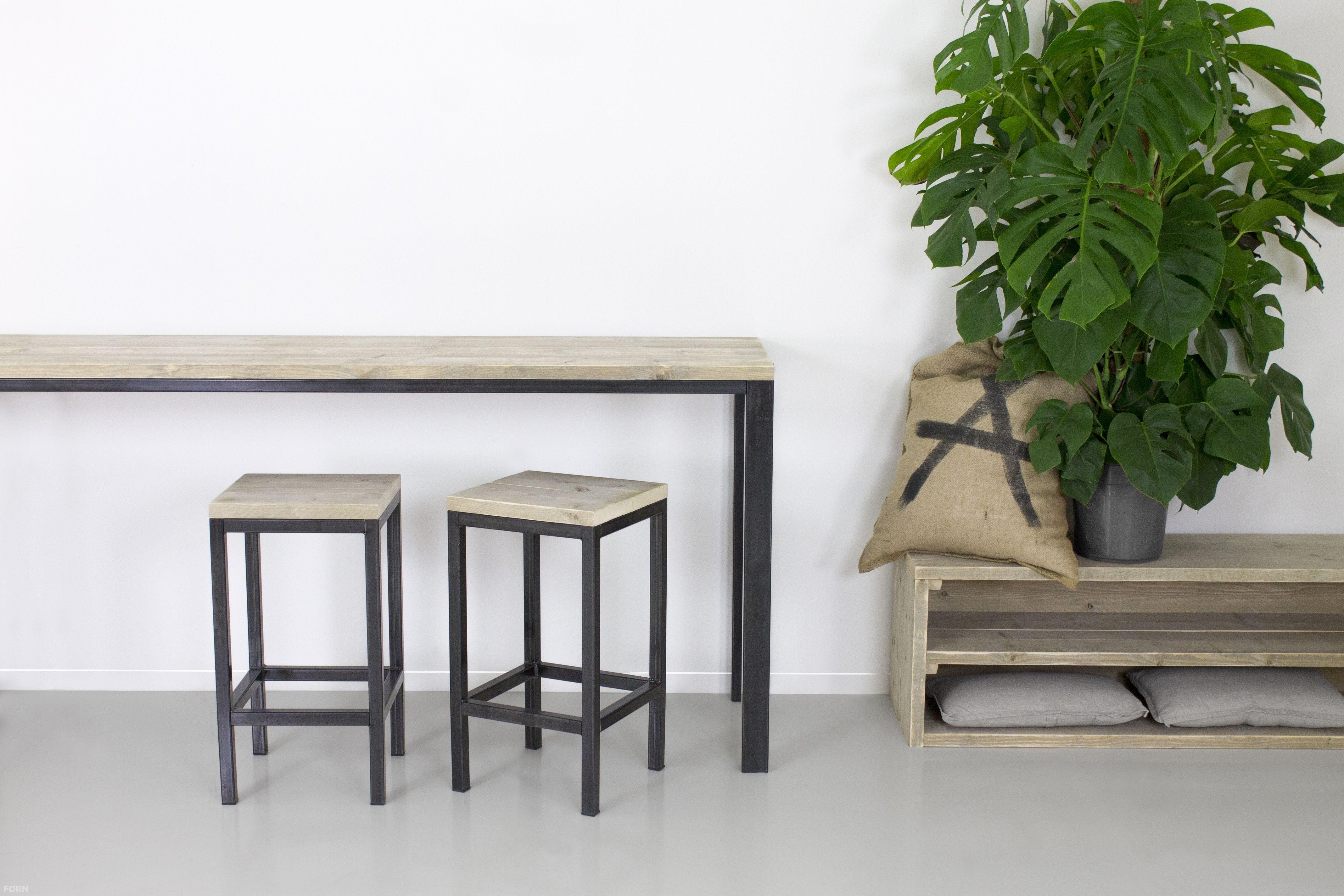 Wohnideen Büro Im Wohnzimmer industriedesign barhocker jan bauholzmoebeldesign de küche