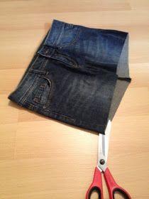 hecho por Alex: bolso de un tutorial de jeans