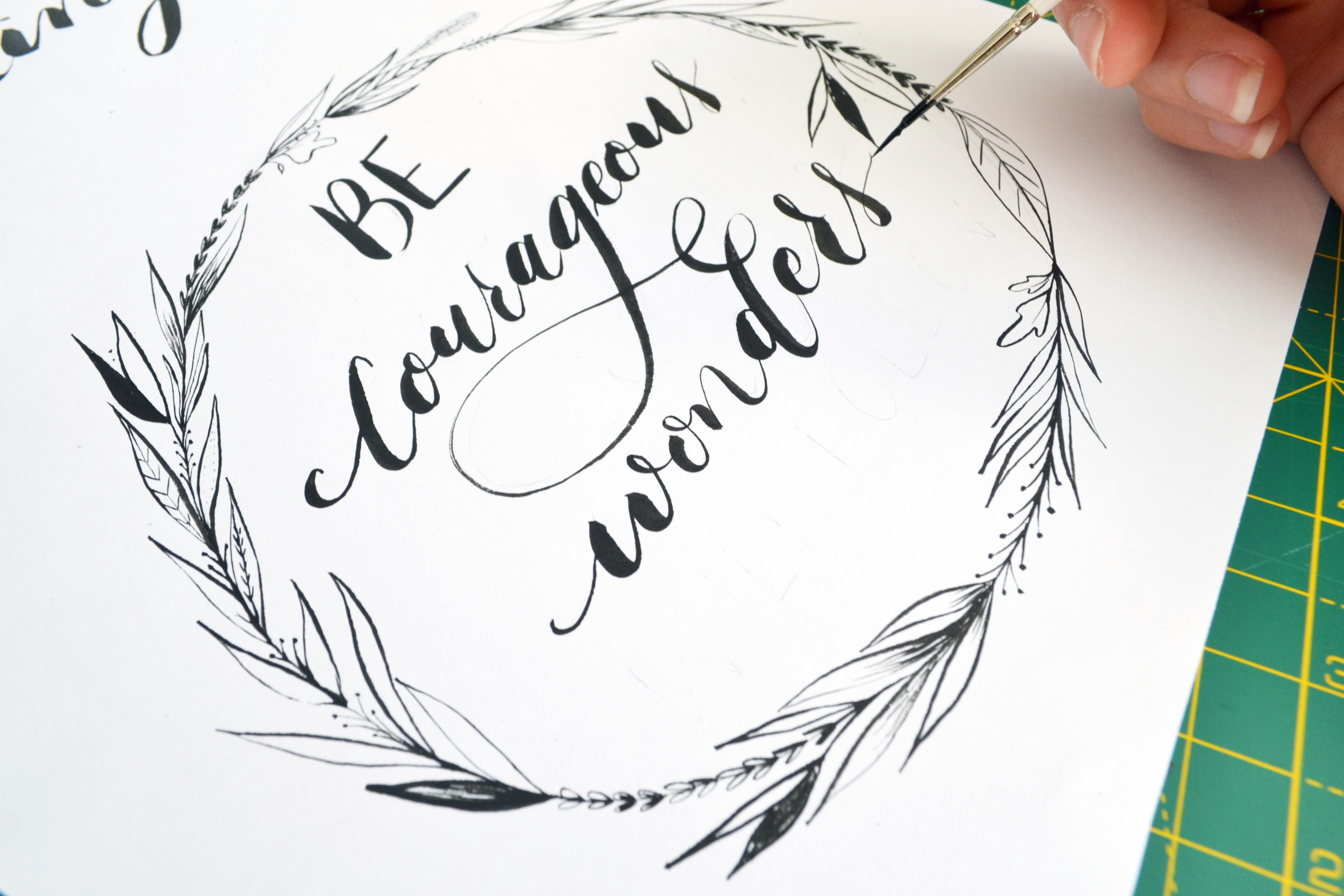 Pin by .pily. on .brush script. pinterest letters