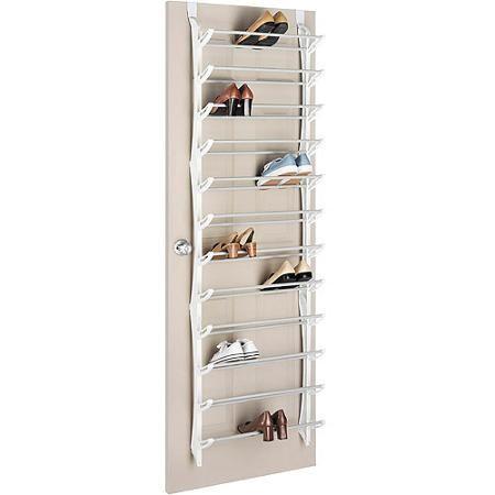 Home Closet Door Storage Shoe Storage Solutions Small Closet Storage