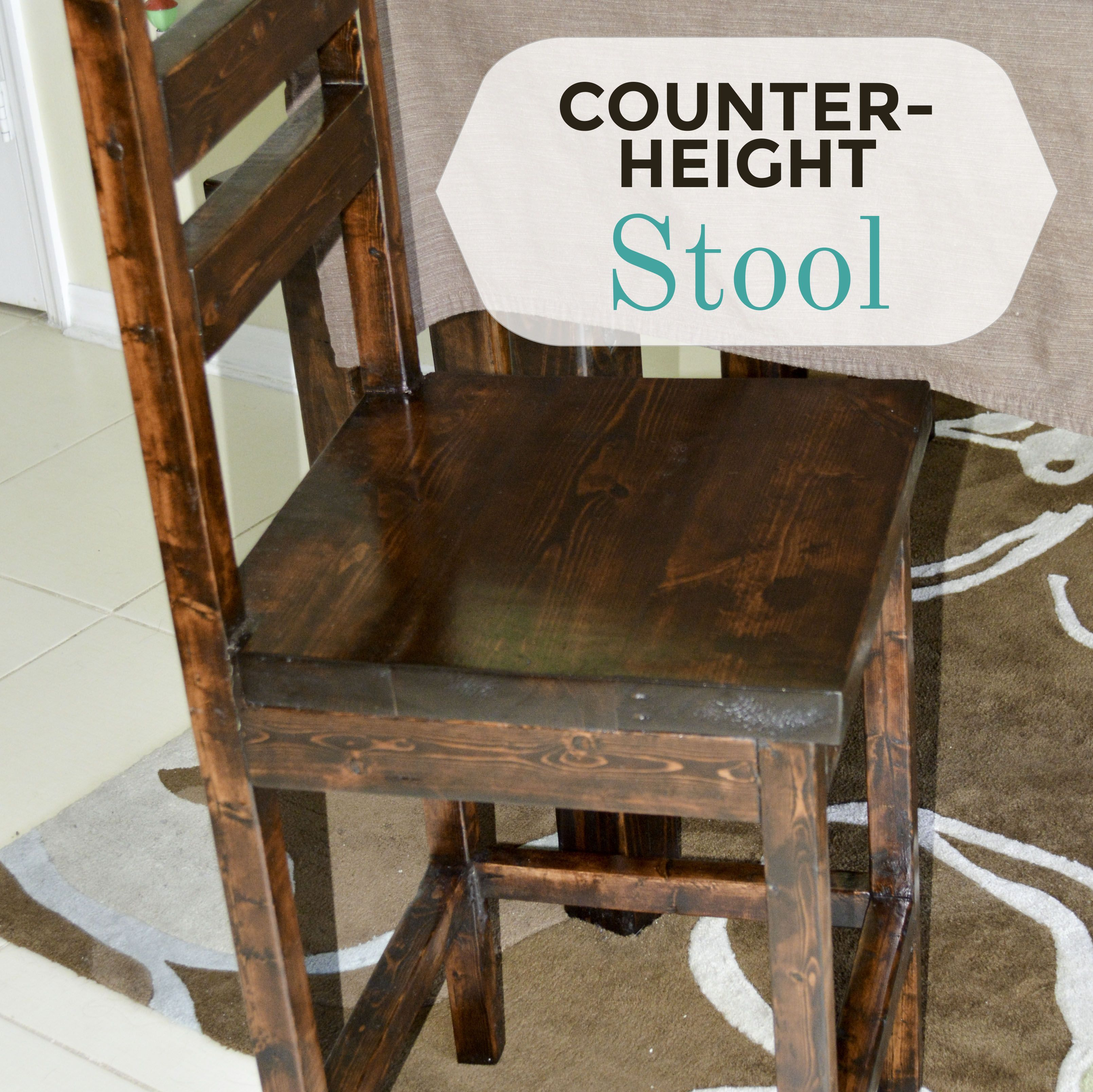 Diy Counter Height Stool