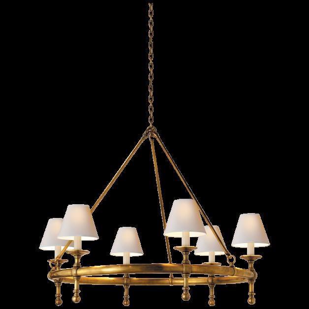 Classic Ring Chandelier - Circa Lighting | Decor ideas | Pinterest
