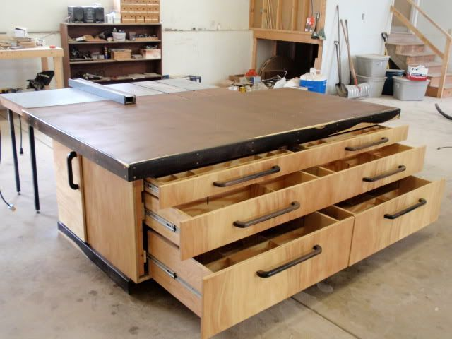 Outfeed Assembly Table By Thepps Lumberjockscom