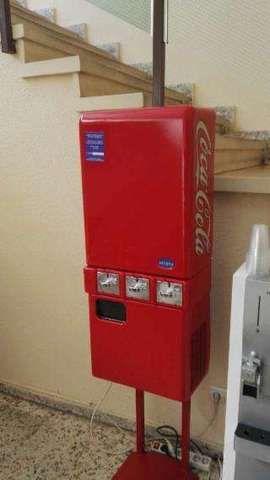 Nevera frigorifico expendedora dispensador cocacola for Dispensador de latas para frigorifico