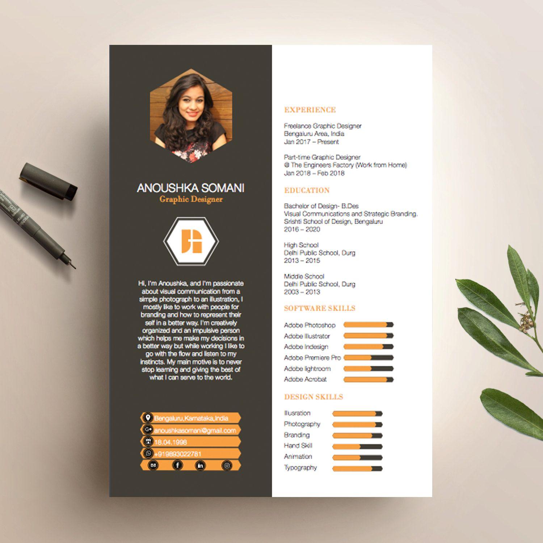 Anoushka Somanis CV Design