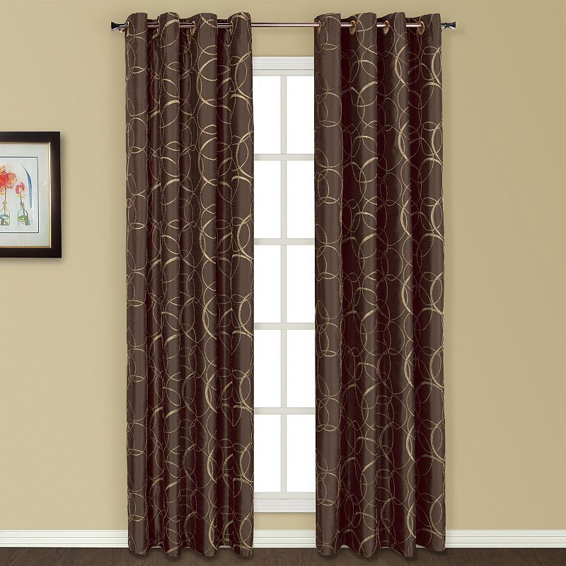 United Window Curtain Co 1 Panel Sinclair Window Curtain Panel